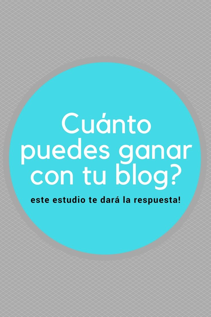 Blogs que dan dinero