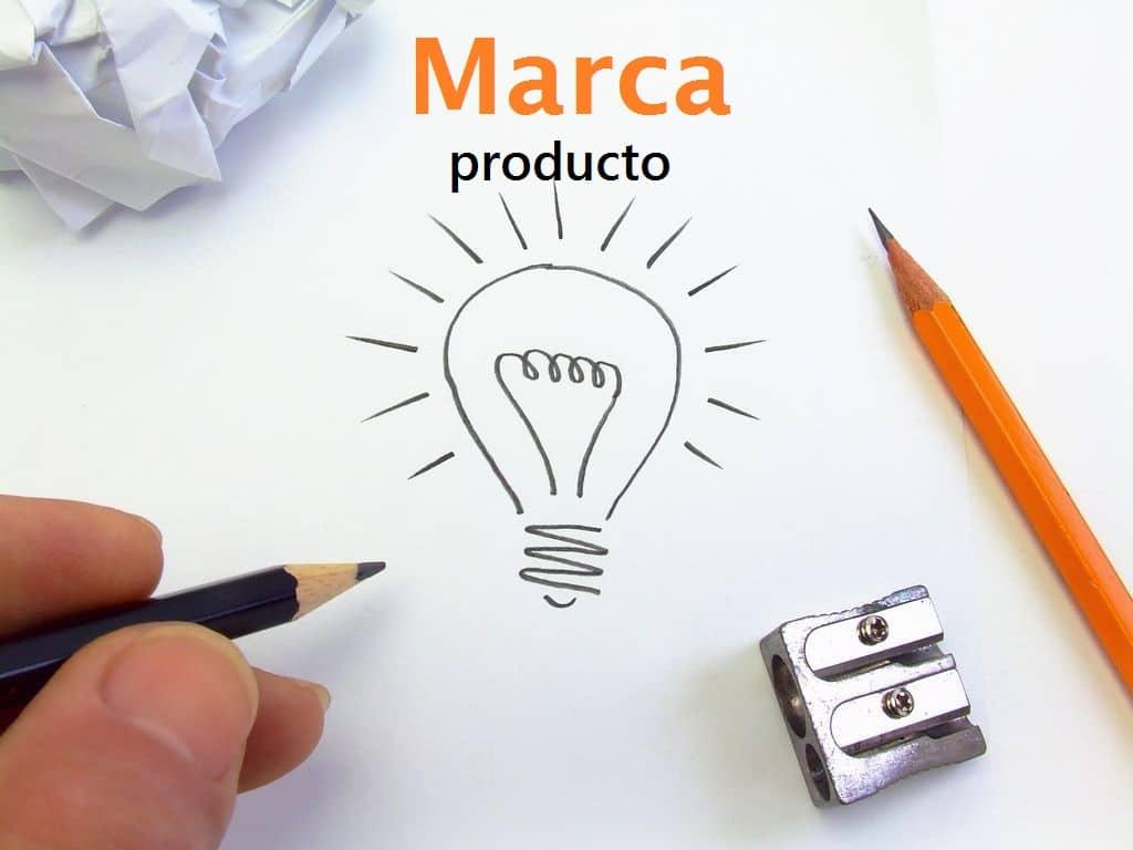 marca de un producto en marketing