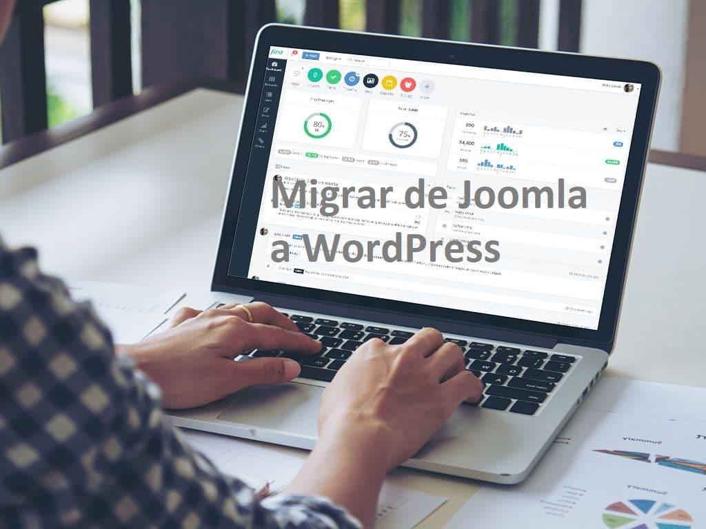 Migrar de Joomla a WordPress