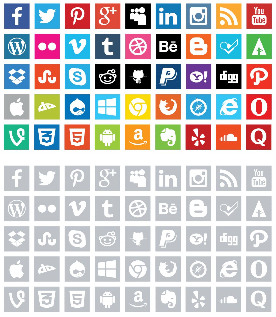 iconos para wordpress