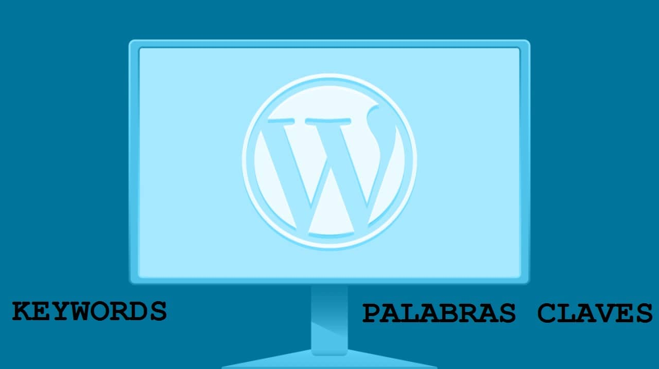 Palabras claves en WordPress
