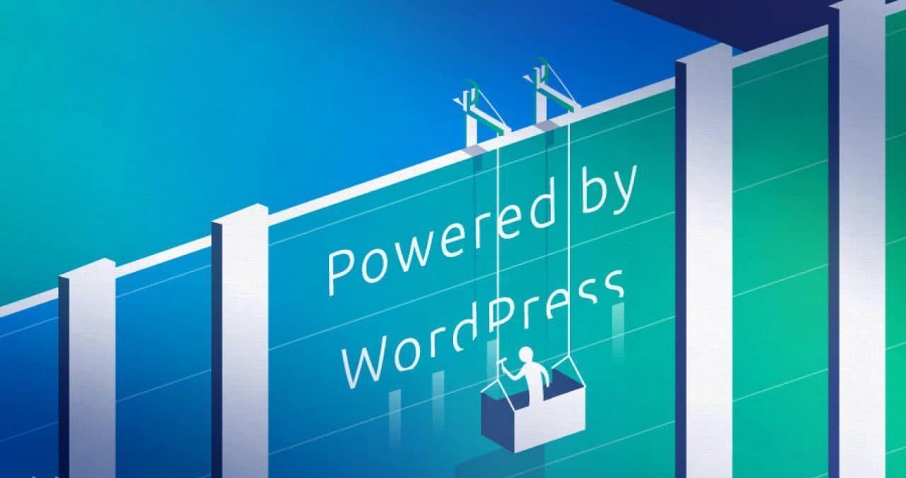 quitar creado con WordPress