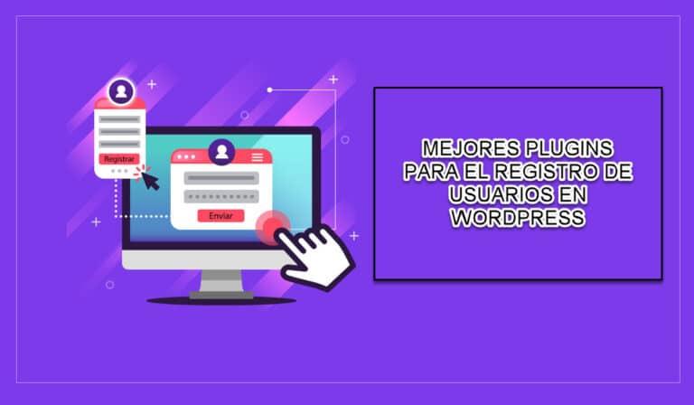 Registro de usuarios de WordPress