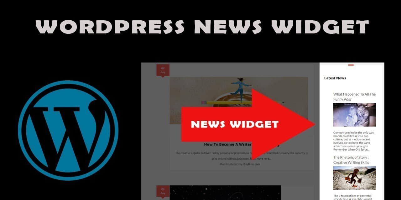 widgets wordpress imprescindibles